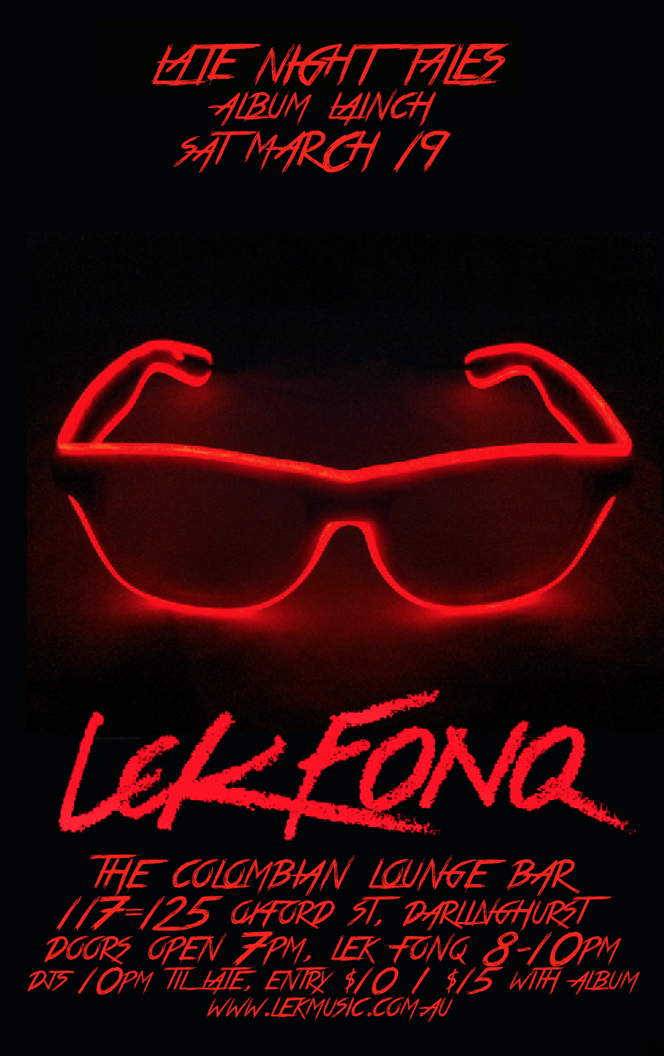 Lek Fonq Album Launch