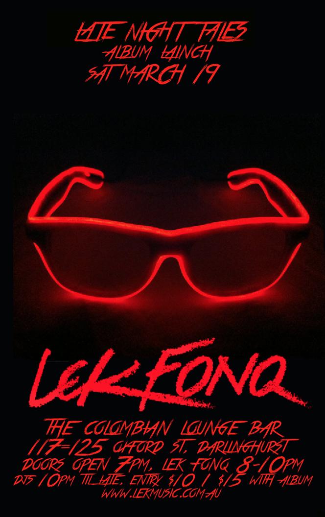 Lek Fonq Album Launch